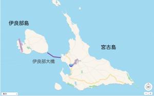 宮古島全体マップ