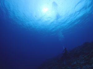 台風通過後の伊良部島の海