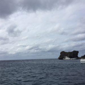 下地島の青い海