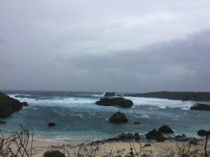 台風18号襲来