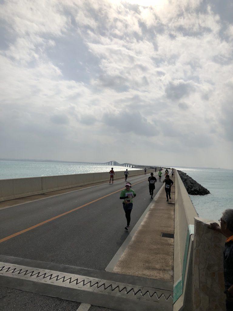 フルマラソン後のダイビング
